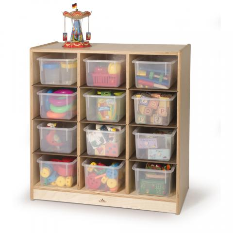 WB1410 - 12- Cubby Storage Cabinet