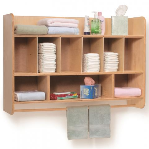 WB4646 - Hang On The Wall Diaper Unit